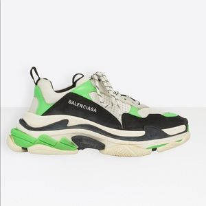 Balenciaga Triple S sneakers distressed men US 8